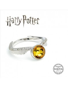 Anillo Snitch Dorada Swarovski - Harry Potter