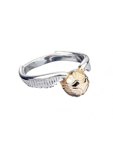 Anillo Snitch Dorada Plata - Harry Potter