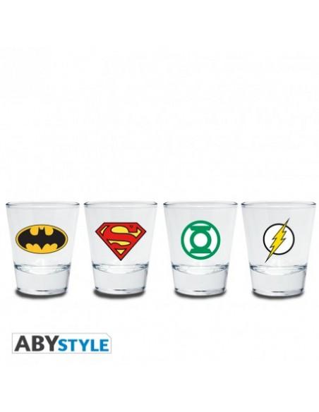 Pack Vasos chupitos Superhéroes - DC Comics