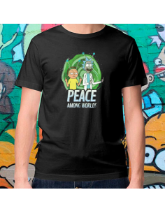 Camiseta Peace and love world  - Crea tu camiseta