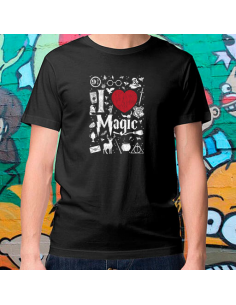Camiseta I love Magic  - Crea tu camiseta