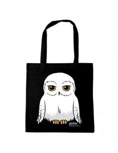 Bolsa negra Cartoon Hedwig - Harry Potter