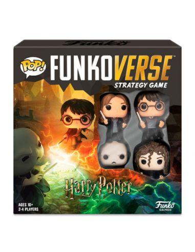 Funkoverse Harry Potter Español 4 Figuras - Juego de Mesa - Harry Potter