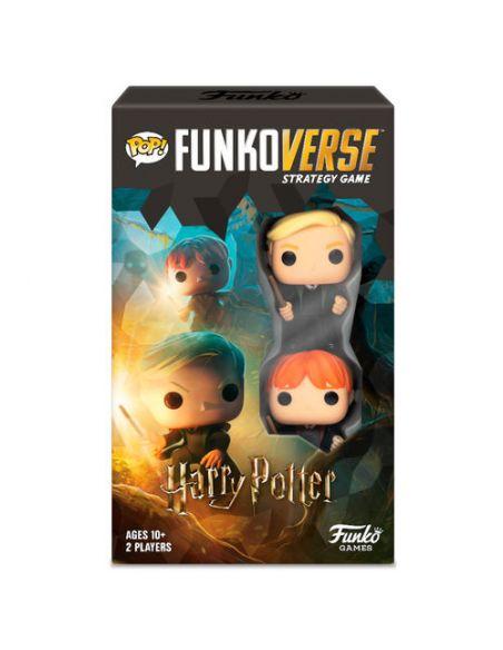 Funkoverse Harry Potter Español 2 Figuras - Juego de Mesa - Harry Potter