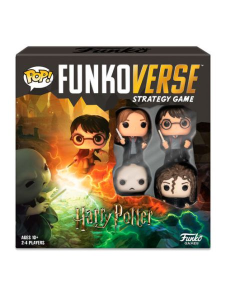PACK Funkoverse Harry Potter Español - Juego de Mesa - Harry Potter
