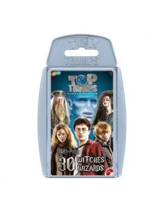 Juego de cartas Harry Potter 30 Magos Hechiceros Top Trumps
