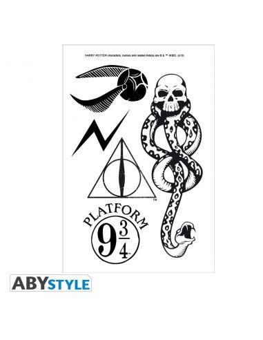 Tatuajes temporales Harry Potter