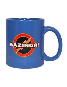 Taza Azul Bazinga! - The Big Bang Theory