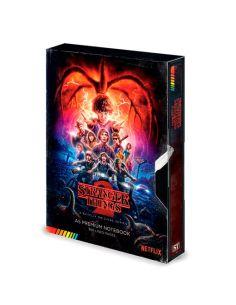 Libreta VHS Stranger Things