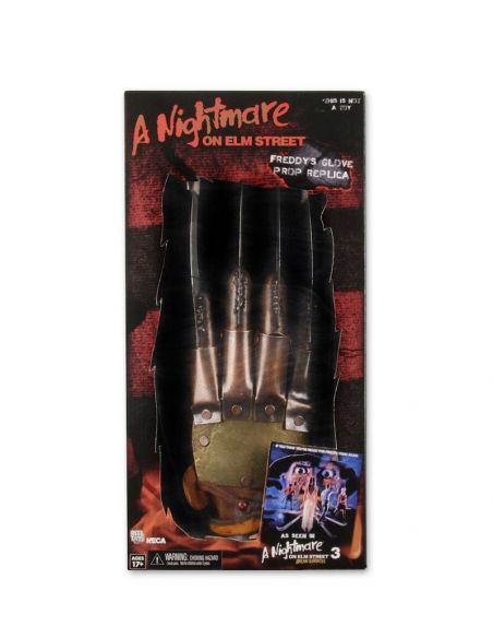 Réplica Guante de Freddy Krueger - Pesadilla en Elm Street 3