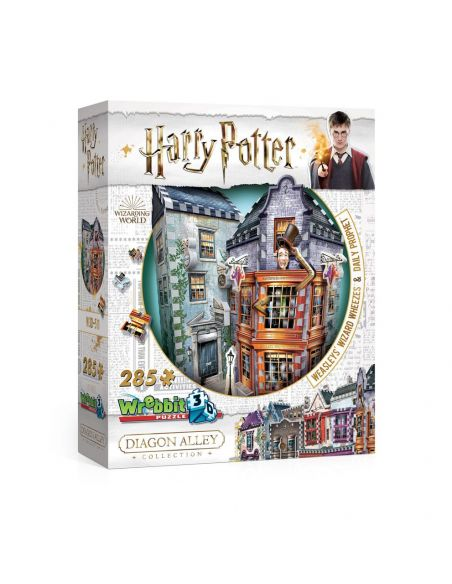 Puzzle 3D Tienda Weasley's Wizard Wheezes and Daily Prophet - Harry Potter