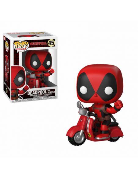 FUNKO POP! Deadpool en Moto 45 - Marvel