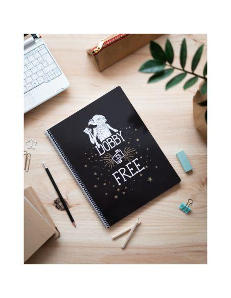 Libreta Dobby is Free A4 - Harry Potter