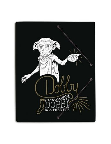 Carpeta de gomas Dobby is Free - Harry Potter