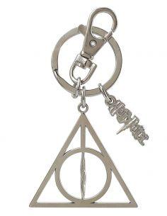 Llavero metálico Símbolo las Reliquias de la Muerte - Harry Potter