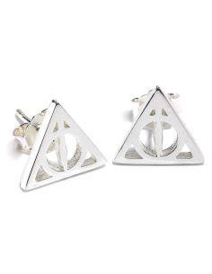 Pendientes las Reliquias de la Muerte - Plata - Harry Potter