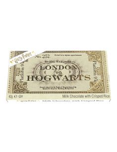 Tableta de Chocolate Ticket Hogwarts Express - Harry Potter