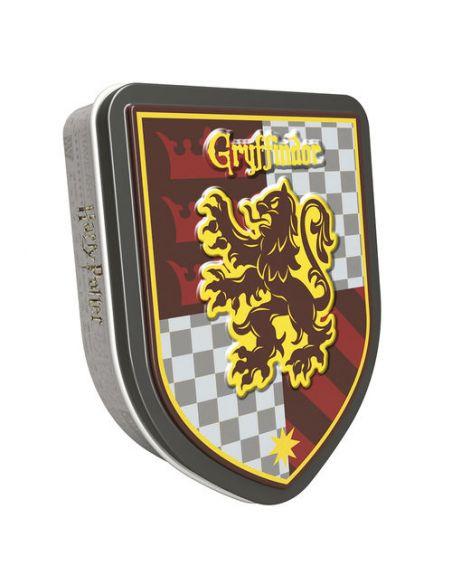 Caja metálica de grageas casas Hogwarts - Harry Potter