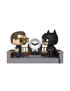 FUNKO POP! Batman y Comisario Gordon con luz - Movie Moments - DC Comics