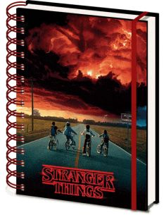 Libreta A5 Wiro 3D Mind Flayer - Stranger Things