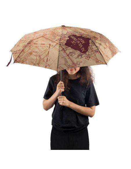 Paraguas automático Mapa del Merodeador - Harry Potter