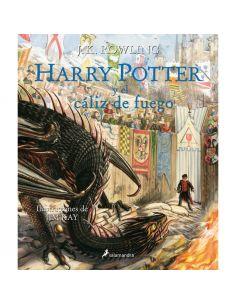Harry Potter y el Cáliz de Fuego - Edición Ilustrada - Harry Potter