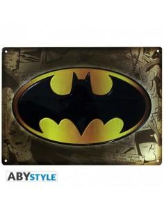 Placa metálica Batman - DC Comics