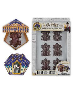 Kit Molde Rana de Chocolate + Cajas + Cromos - Harry Potter
