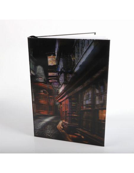 Libreta lenticular Callejón Diagón - Harry Potter