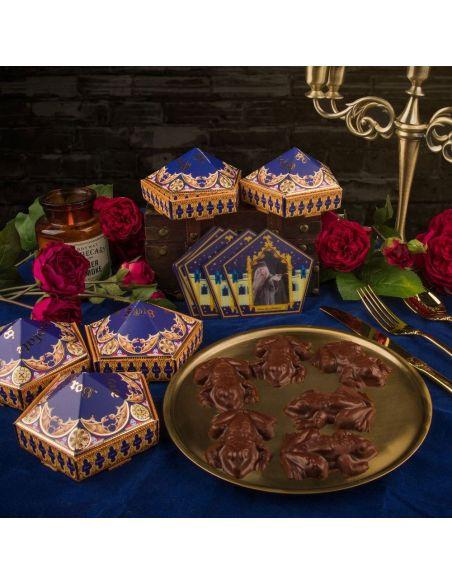 Kit Rana de Chocolate Molde + Cajas + Cromos - Harry Potter