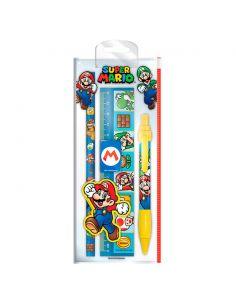 Set papelería Super Mario Bros - Nintendo