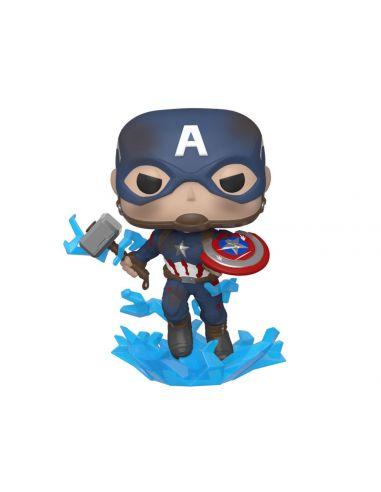 FUNKO POP! Capitán América Escudo y Martillo - Vengadores: Endgame