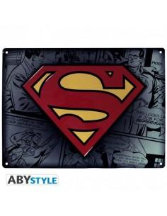 Placa metálica Superman - DC Comics