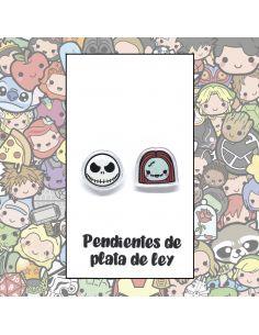 Pendientes Plata - Personajes Halloween - Joyería Artesanal
