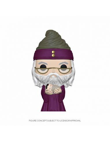 FUNKO POP! Dumbledore con bebé Potter - Harry Potter