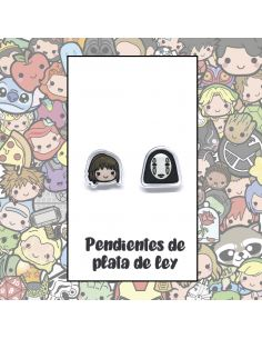 Pendientes Plata - Niña y Sin Cara - Joyería Artesanal