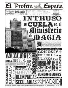 Periódico el Profeta - 3ª Edición España - Harry Potter