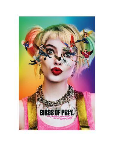 Póster Harley Quinn - Aves de Presa