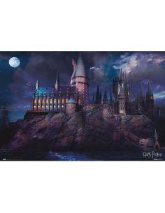 Póster Castillo Hogwarts - Harry Potter
