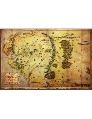 Póster Tierra Media - El Hobbit