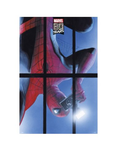 Póster Spiderman 80 years - Marvel