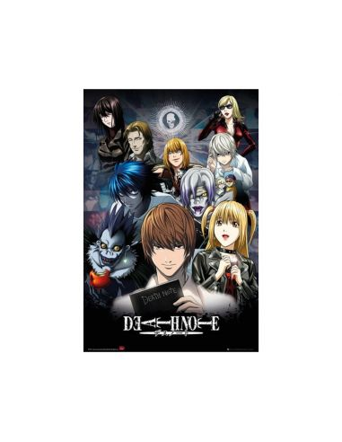 Póster Death Note collage