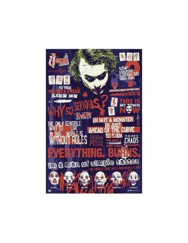 Póster Joker The Dark Knight - DC Comics