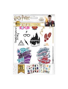 Pack 55 pegatinas Mágicas - Harry Potter