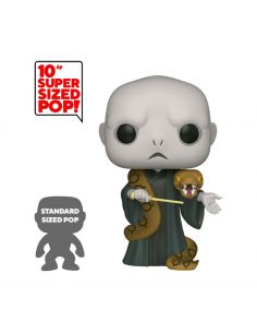 Funko Pop! Lord Voldemort y Nagini 25 cm - Super Sized - Harry Potter