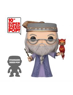 Funko Pop! Albus Dumbledore y Fawkes 25 cm - Super Sized - Harry Potter