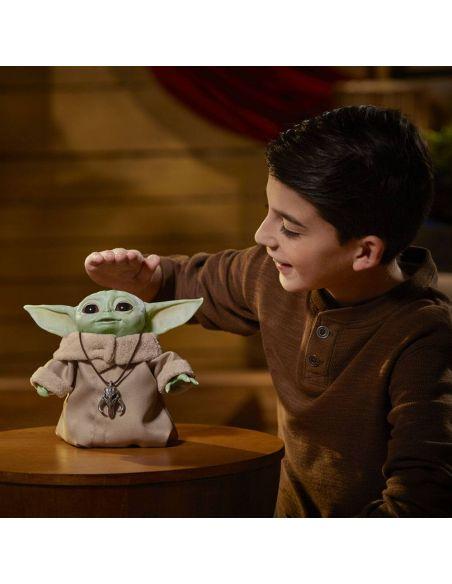 Figura electrónica Baby Yoda - Animatronic Edition - The Mandalorian - Hasbro