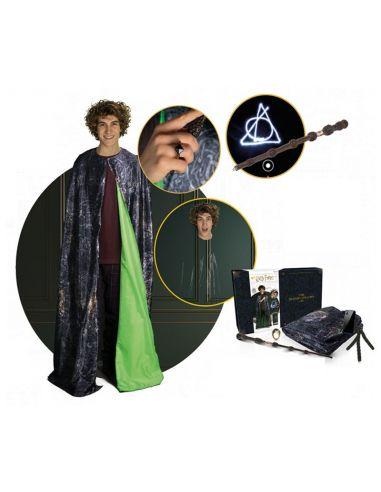 Pack Capa invisibilidad, varita de Sauco, Piedra Resurrección - Harry Potter