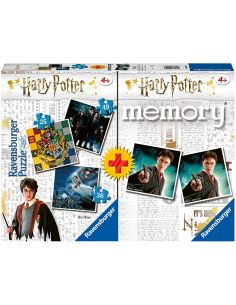 Pack memory + 3 puzzle Harry Potter