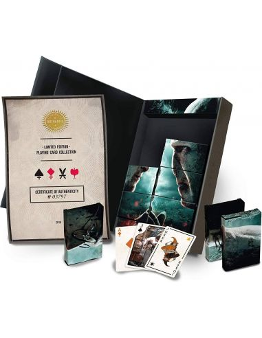 Barajas de naipes Collector's Set Limited Edition Harry Potter